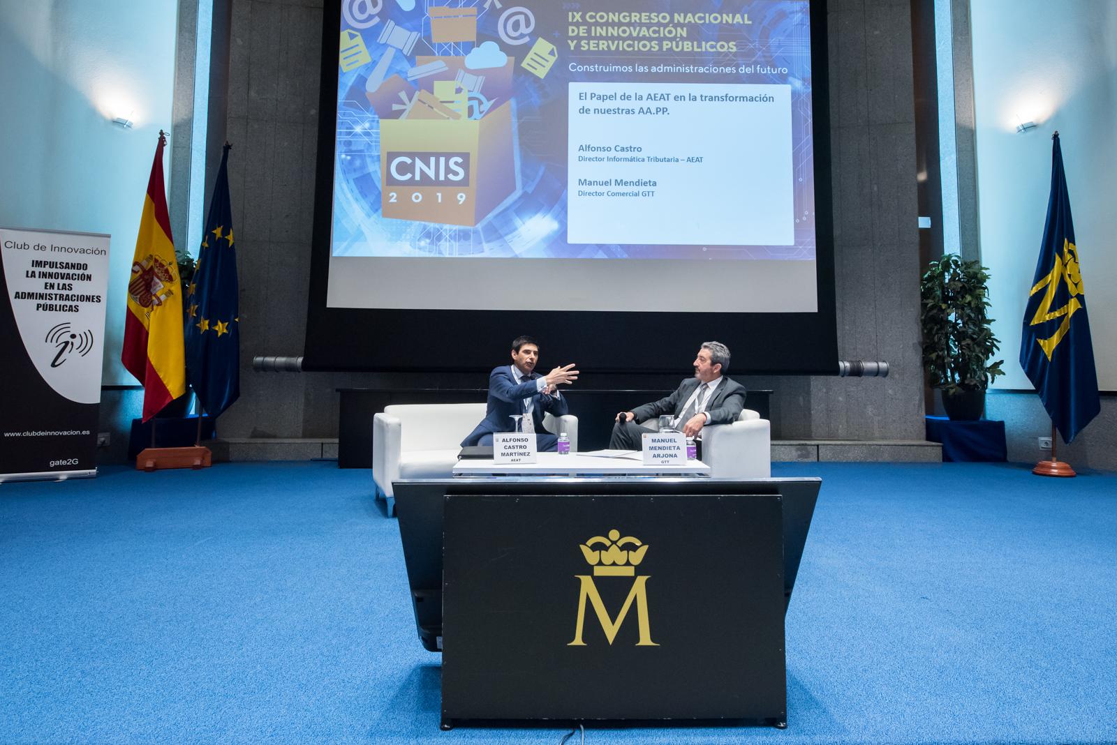 gtt, patrocinador Oro de CNIS 2019