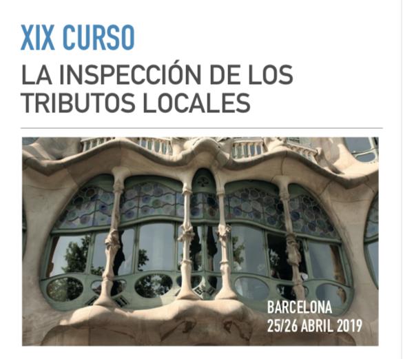 La Asociación Nacional de Inspectores de Hacienda Pública Local organiza el XIX Curso sobre la Inspección de los Tributos Locales
