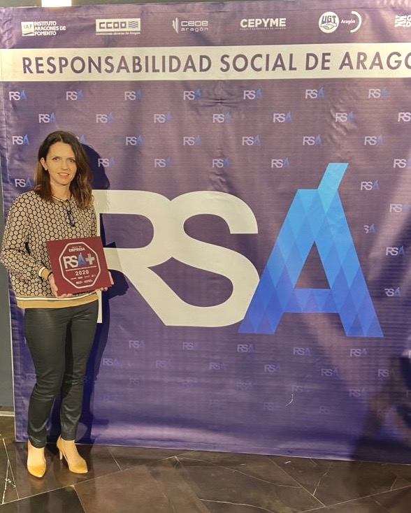 gtt recoge en Zaragoza el sello RSA+