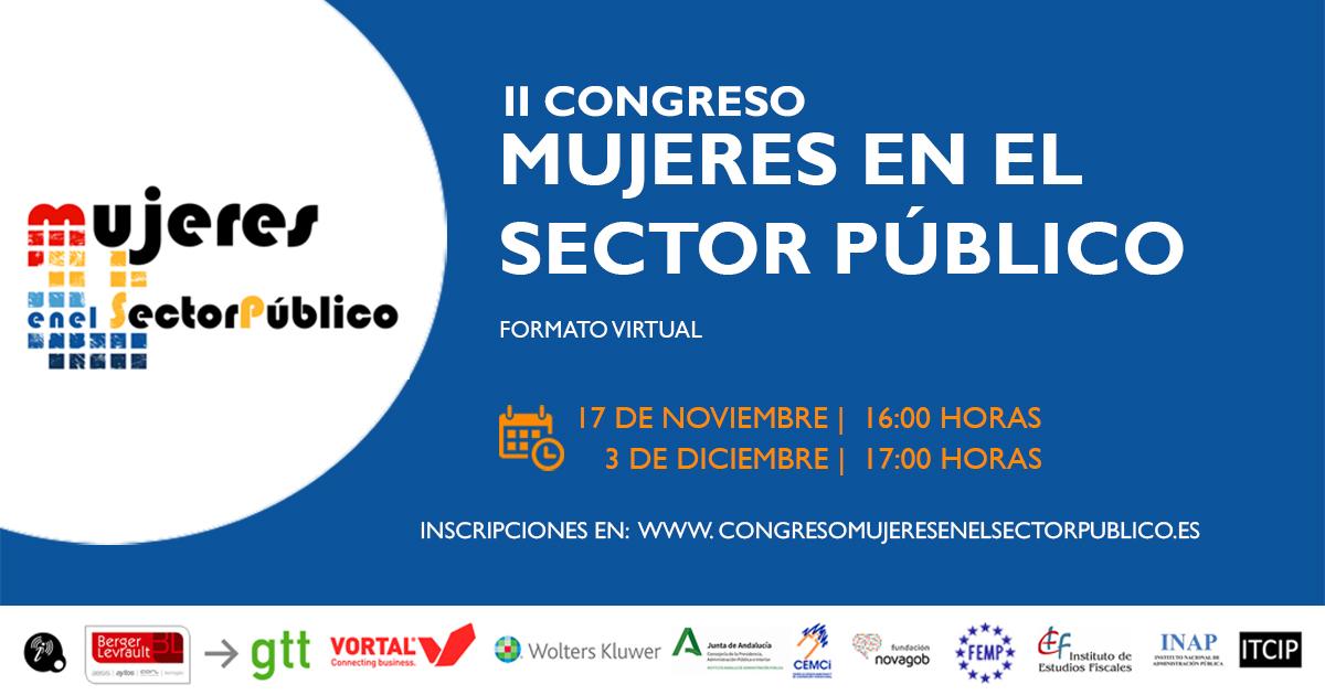 II Congreso Nacional de Mujeres en el Sector Público